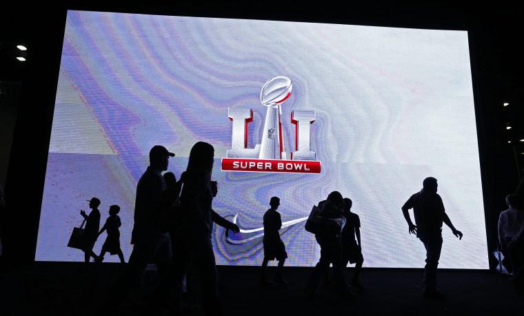 Image: Super Bowl LI - fan zone