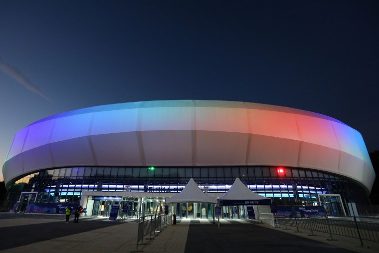 Image: The Gangneung Ice Arena