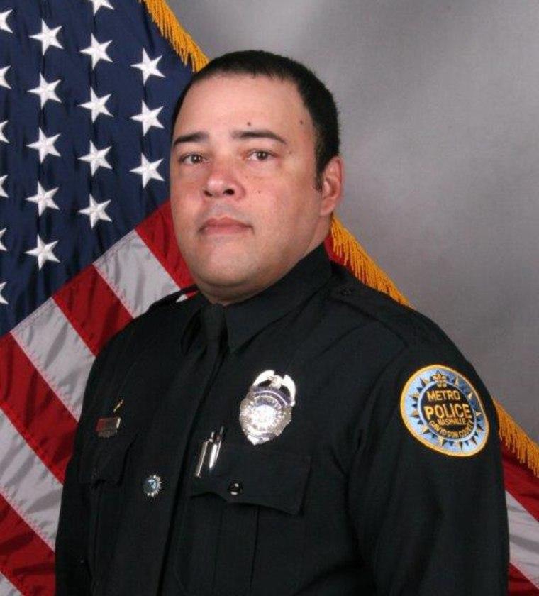 Image: Metro Nashville Police Officer Eric Mumaw