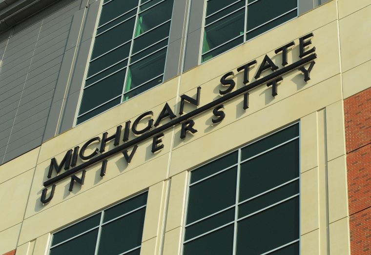 Image: A general view of the exterior of Spartan Stadium on Nov. 21, 2009 in East Lansing, Michigan.