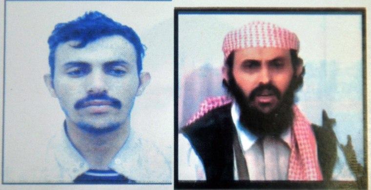 Image: Yemen-based al-Qaeda wing military chief Qassim al-Raymi