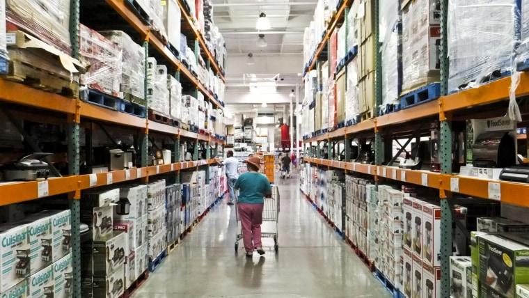 Warehouse shopping