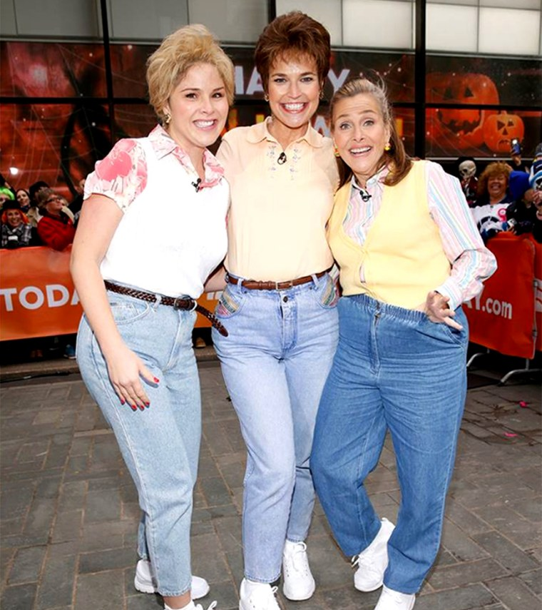 TODAY show Mom Jeans