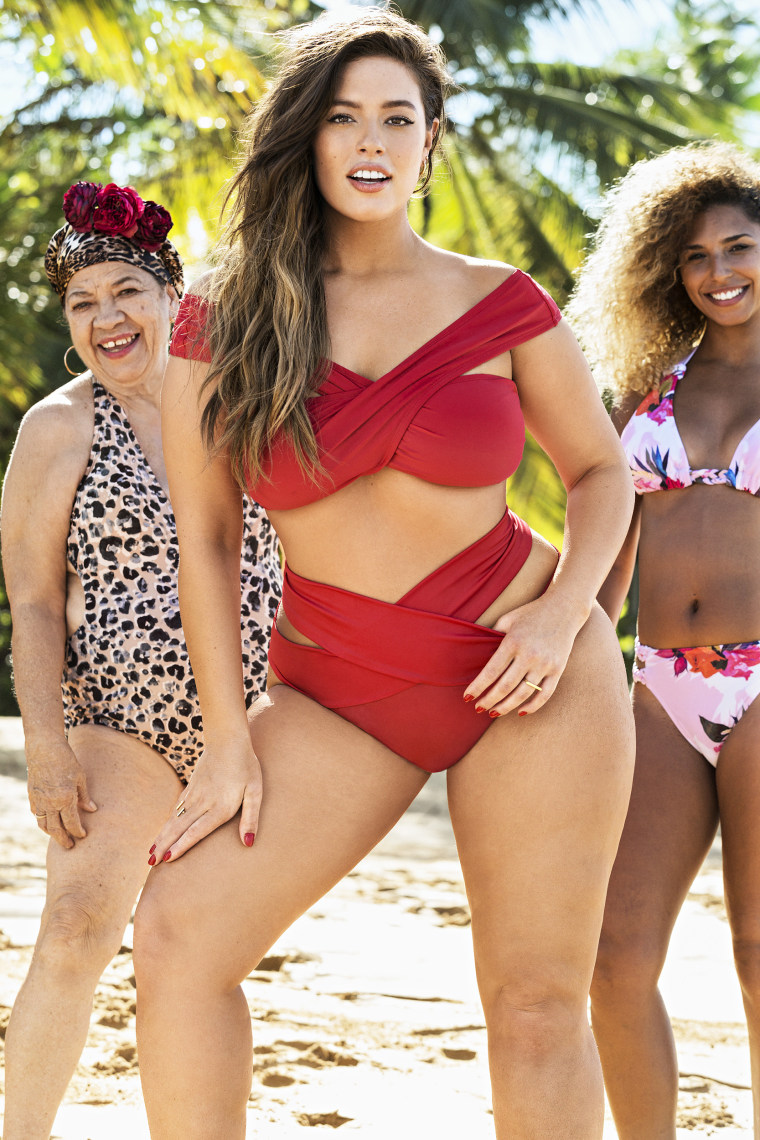 Ashley Graham stars in the 2017 Sports Illustrated 'Swimsuits for All' campaign.