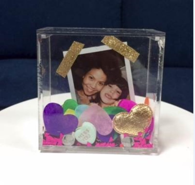 Valentine's Day photo craft