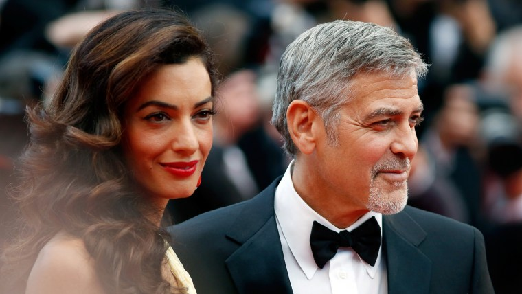 """George Clooney says he and his wife Amal Clooney support Parkland, Florida, students """"100 percent."""""""