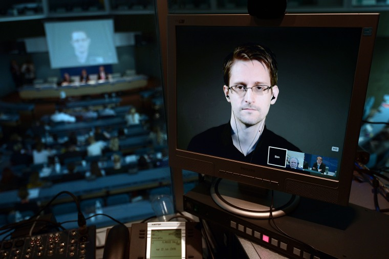 Image: NSA former intelligence contractor Edward Snowden