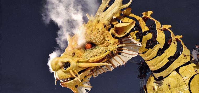 La Machine will bring fierce, gigantic mechanical creatures to downtown Ottawa July 27-30 to celebrate Canada's 150th birthday.