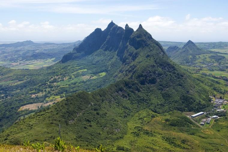 Image: Panoramic views of Mauritius.