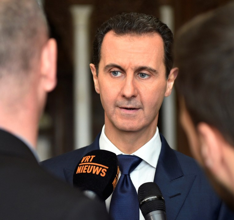 Syria's Assad Sees Trump's Russia Position as 'Promising' in ISIS Fight