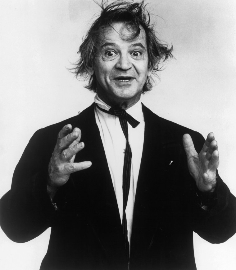 "Image: Professor Irwin Corey, ""The Worlds Foremost Authority"", circa 1970."