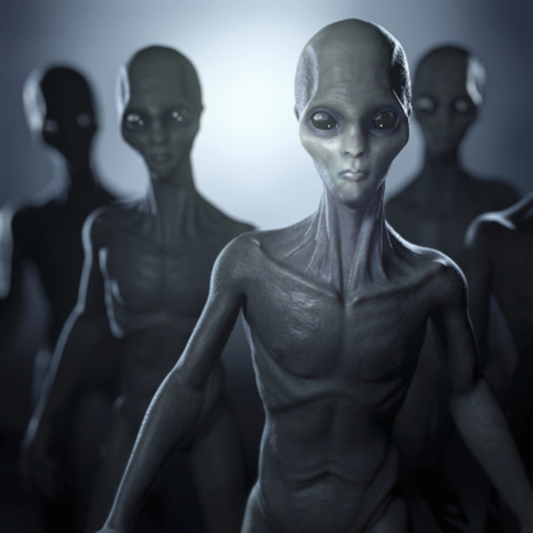 Image: An illustration of aliens.