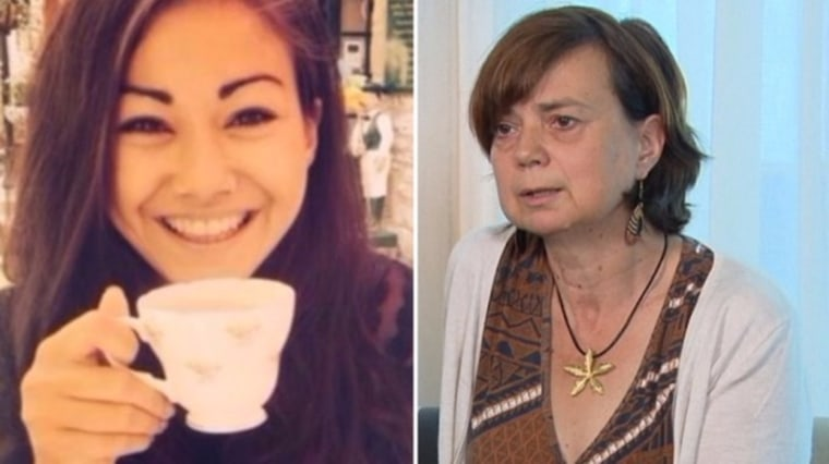 Mia Ayliffe-Chung, left, and her mother Rosie.