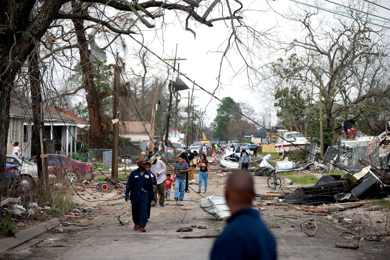 Image: Tornado Touches Down In New Orleans East