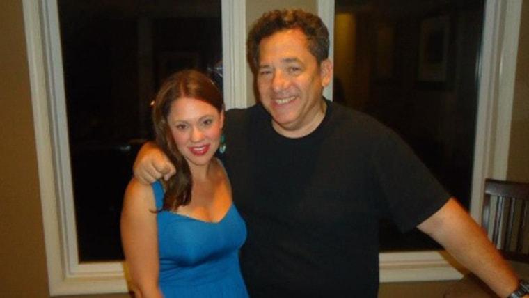 Josh Mankiewicz and Melanie Hutchison during 'Mank & Me'