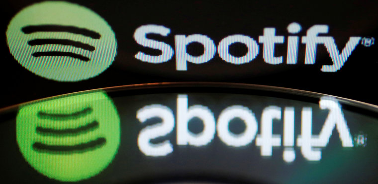 Image: Music streaming service Spotify