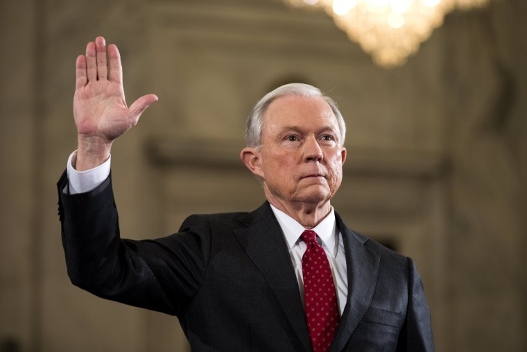 Image: Sessions Attorney General Confirmation Hearing