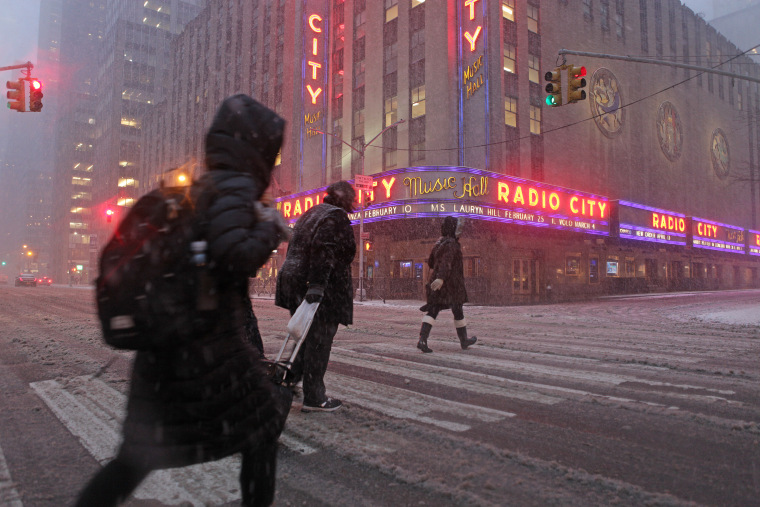 Deadly Snowstorm Wallops New York, Boston: Schools Closed, Flights Canceled