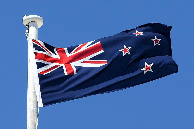 New Zealand Flags Hoisted In Wellington