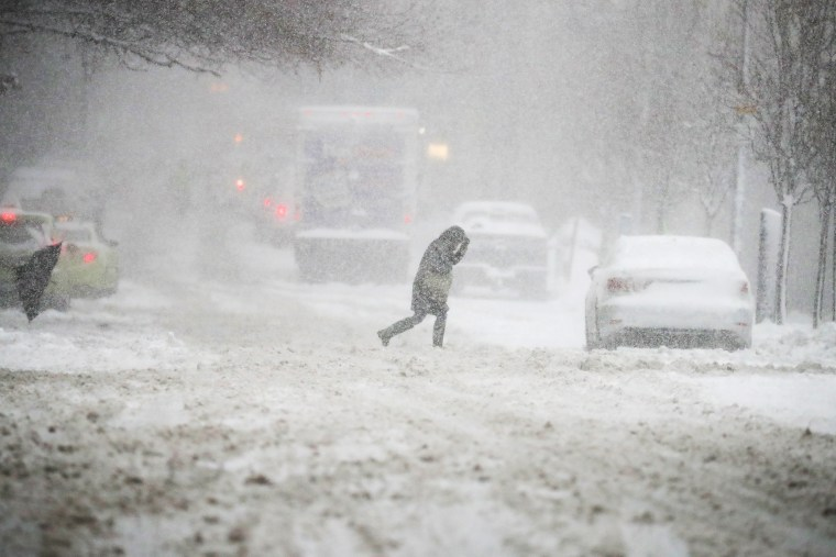 Northeast Faces Ice Danger After Winter Storm Dumps Snow