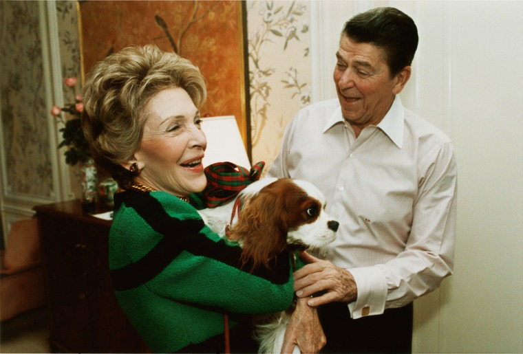 Image: Reagans And Rex