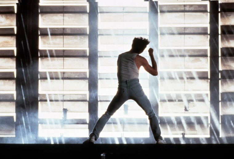 Image: Kevin Bacon in Footloose, 1984