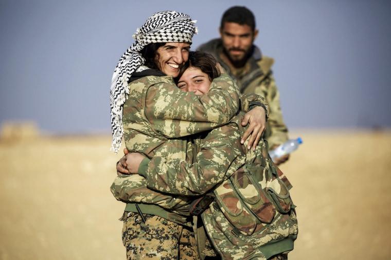 Image: SYRIA-CONFLICT-JIHADISTS-WOMEN