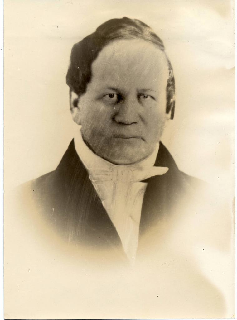 Image: Alexander L. Twilight, Middlebury College Alumnus, Class of 1823.