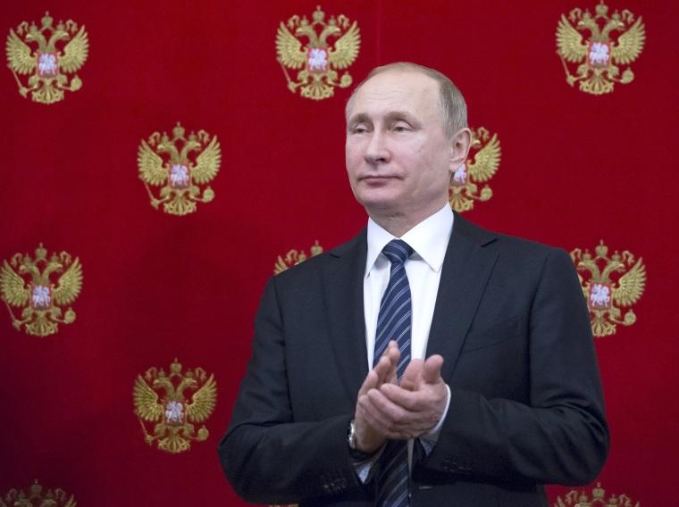 Image: Slovenian President Borut Pahor visits Russia