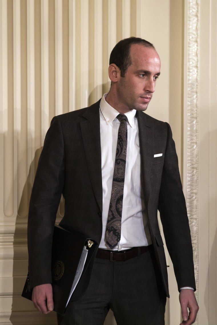 Image: Stephen Miller, senior adviser to President Donald Trump.t White House