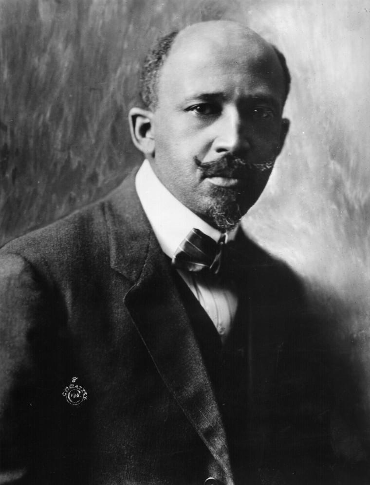 Image: Black American writer Dr. W.E.B. Du Bois.