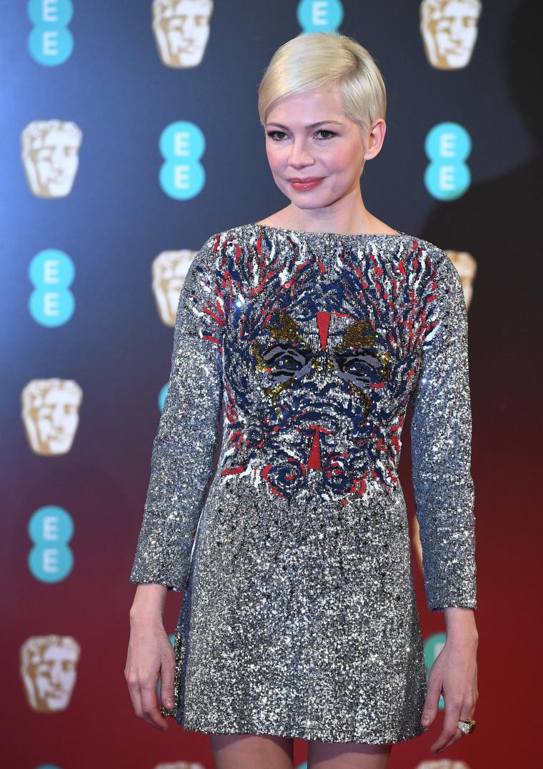 Michelle Williams Louis Vuitton BAFTAs