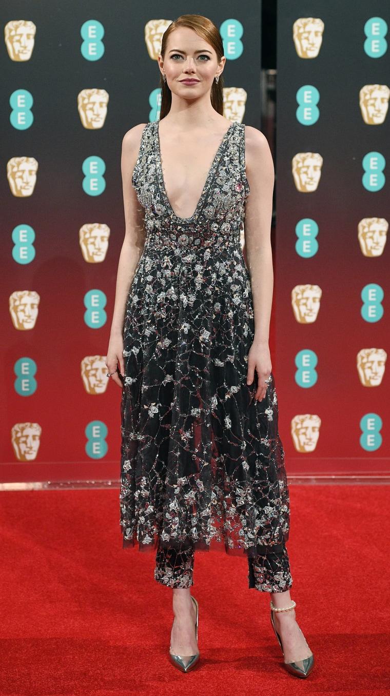 Emma Stone Chanel BAFTAs