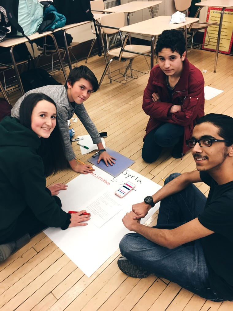 High school club aims to make refugees, immigrants welcome
