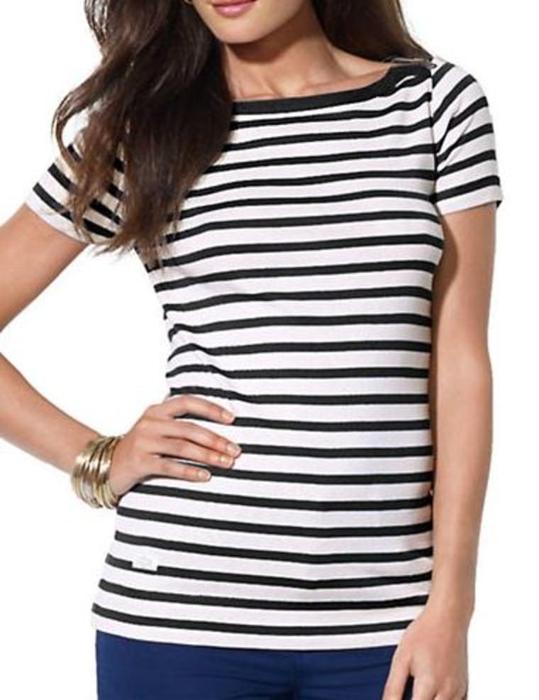 Striped Bateau Shirt