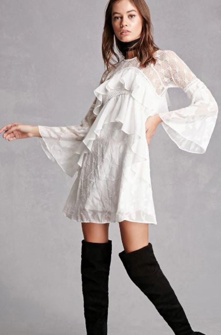 Flounce Dress Forever 21