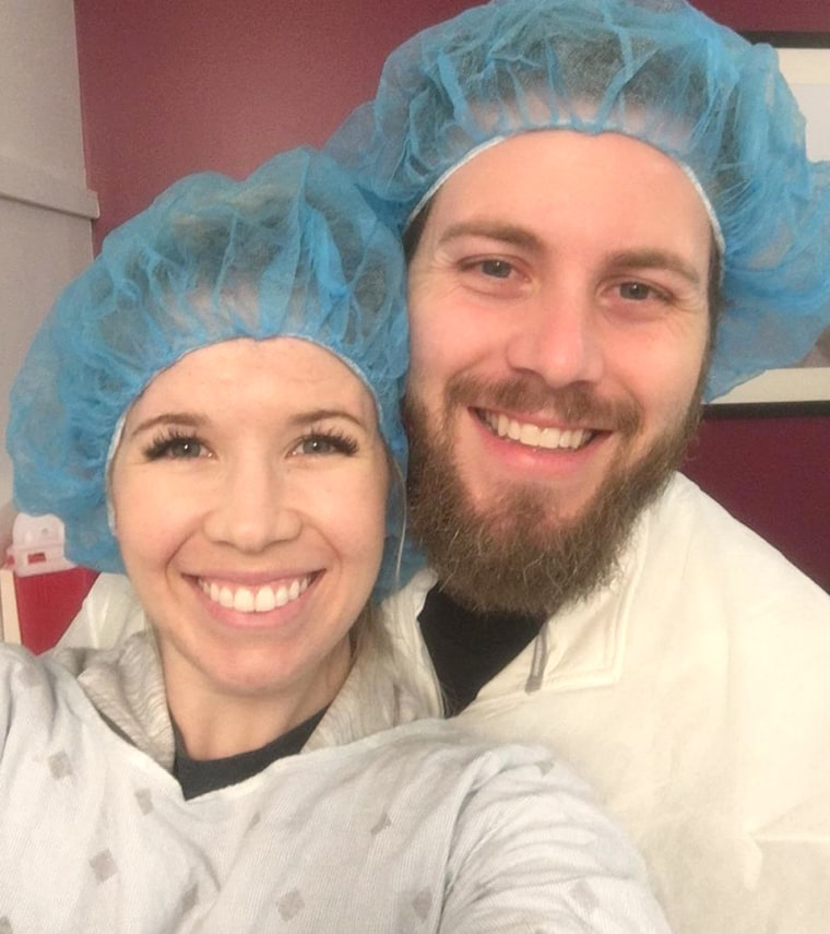Couple pregnant with twins after years of IVF