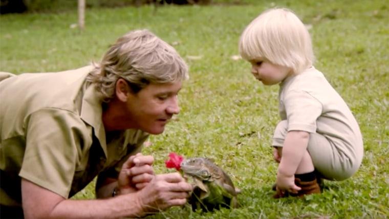 Robert Irwin and Steve Irwin