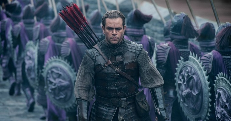 "Matt Damon as William Garin in ""The Great Wall,"" directed by Zhang Yimou."