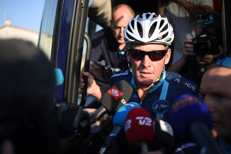 Image: Lance Armstrong in 2015