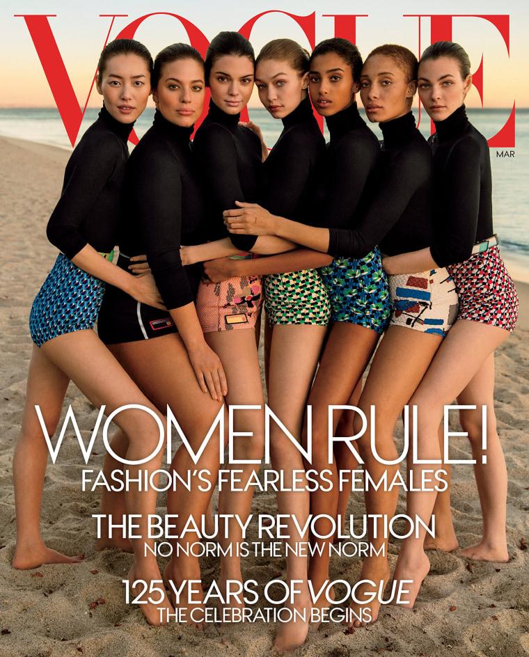 Image: Vogue magazine's March 2017 issue
