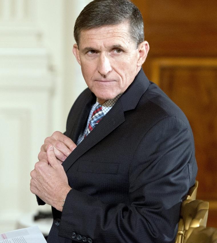 Image: National Security Advisor Michael Flynn Resigns