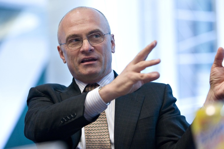 Image: Andrew Puzder, chief executive officer of CKE Restaurants In