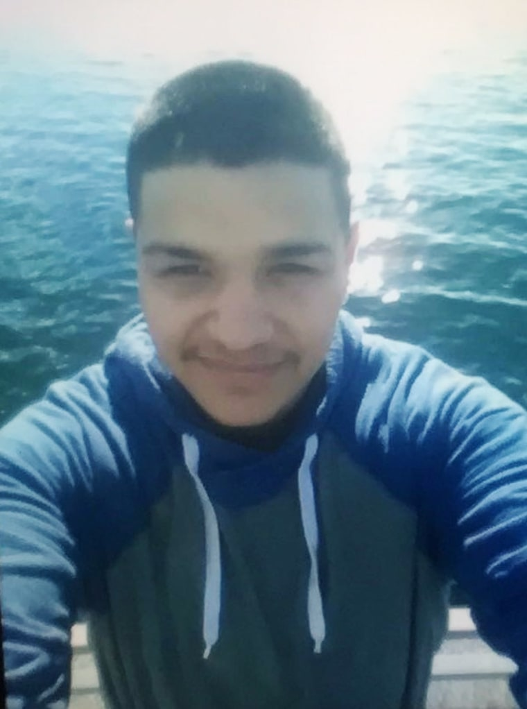 Image: Daniel Ramirez Medina, 23, was detained by immigration authorities