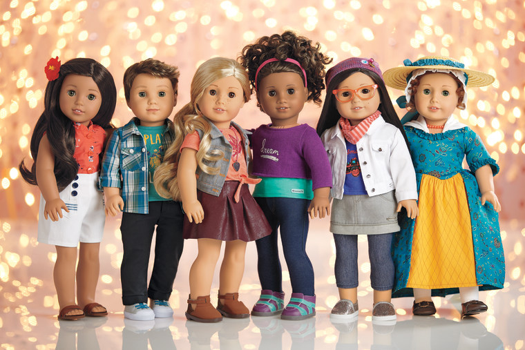 The newest American Girl dolls highlight diverse stories.