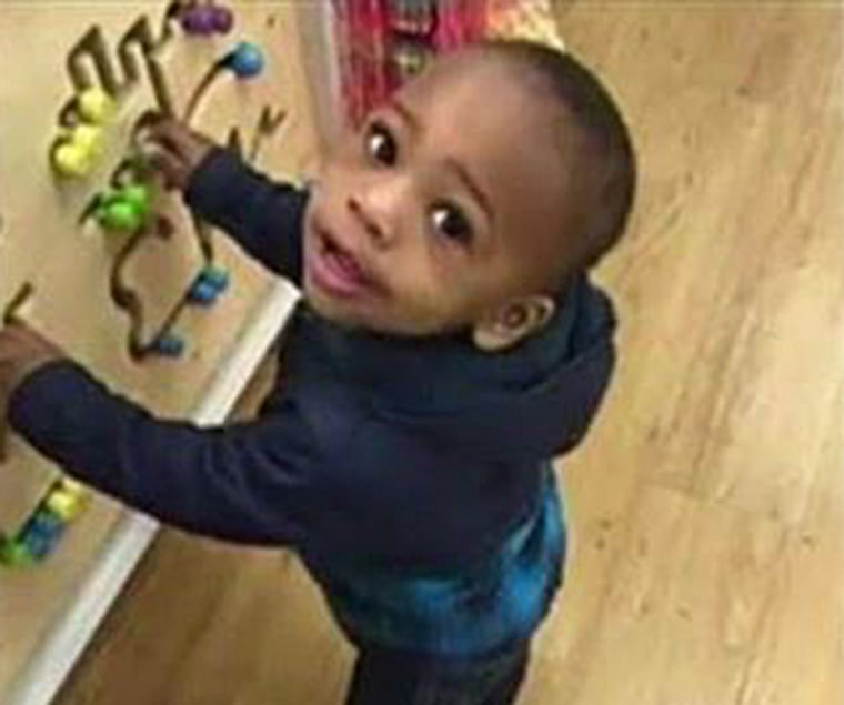 Image: Two-year-old Lavontay White was killed in a triple shooting in broad daylight on Chicago's West Side.