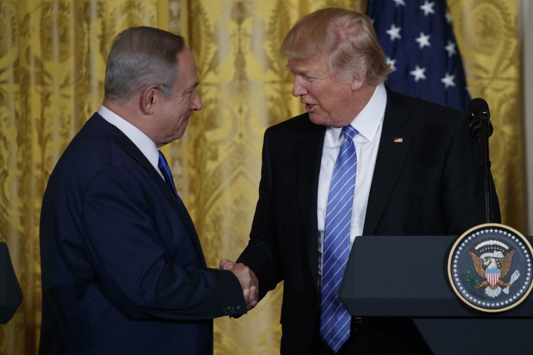 IMAGE: Benjamin Netanyahu and Donald Trump