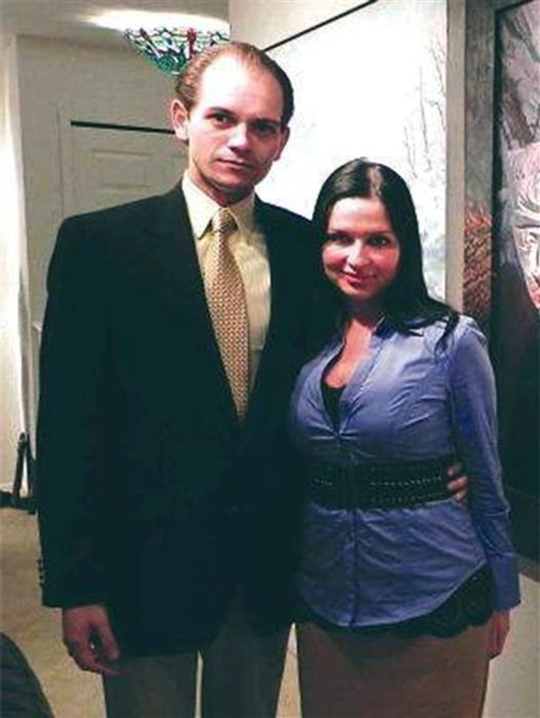 IMAGE: Eric Ian Spoutz and his wife, Natasha