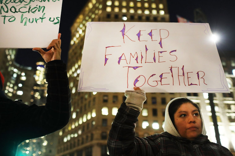 Image: Protestors Rally In Support Of Immigrants In New York City