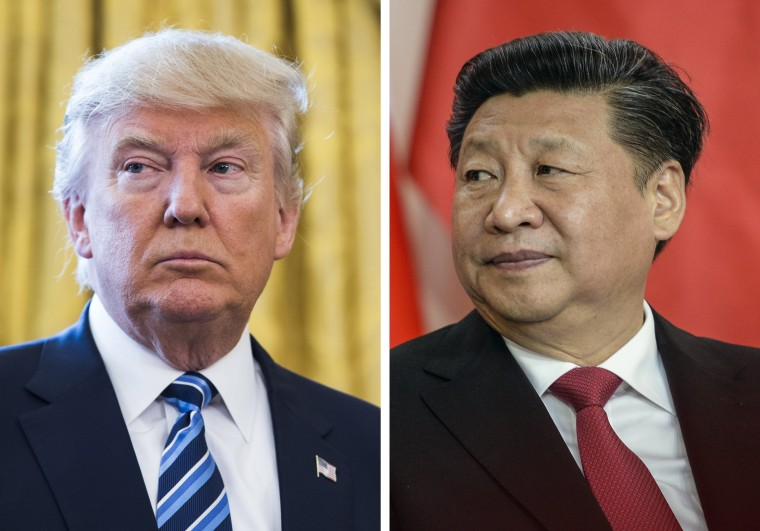 Image: Donald Trump and Xi Jinping